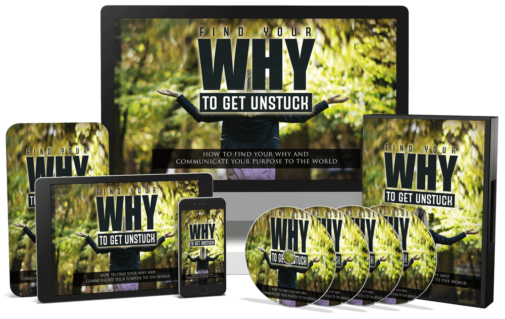 Find your why to get unstuck PLR