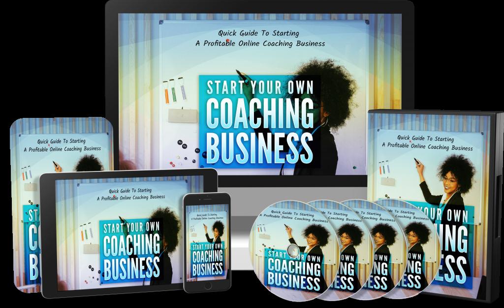 Start your online coaching business PLR