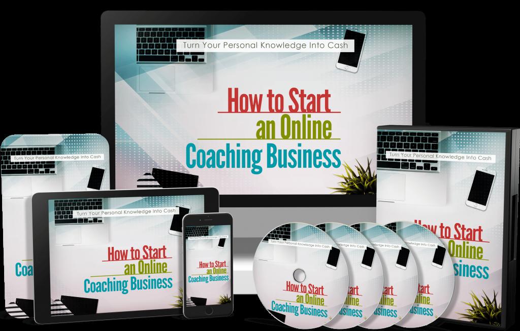 how to start an online coaching business PLR